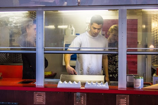 Hotdog-bod i Copenhagen Street Food - Mikkel Baekgaards Madblog