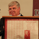 Presenter Dale Benjamin (for inductee Bill Hinchley).