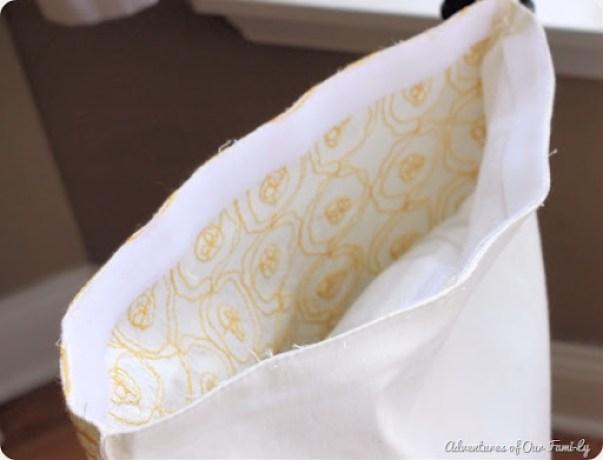 no sew pillowcase with velcro
