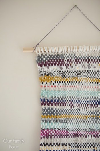 Fabric Woven Wall Hanging 22