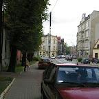 Coming down Bożogrobców Street to Krajcok (intersection with Siemianowicka Street).