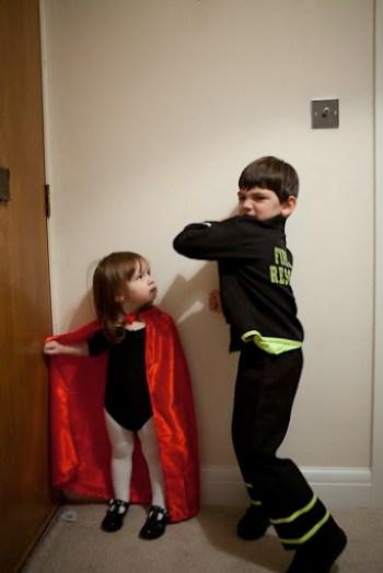 Halloween Fireman Superwoman 4