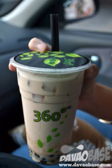 360 Degrees Handshaked Milk Tea