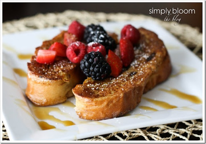 Cinnamon Raisin Swirl French toast (1 of 1)