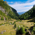 trekking the Bucegi mountains with Fuji X10