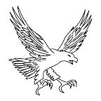Desenhos de Tatuagens de Águias