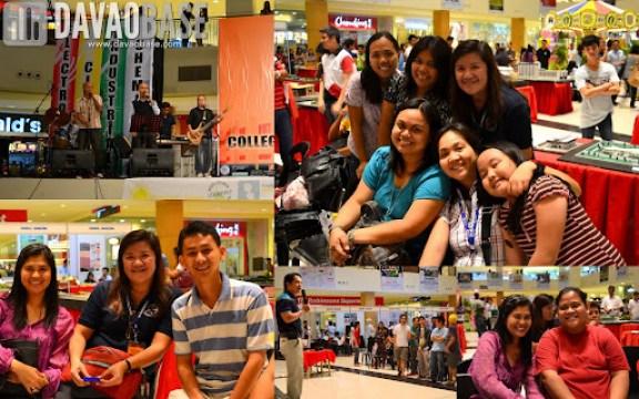 Alumni Night culminated AdDU-CEA Technical Exhibit 2012. Alumni and professors joined in on the fun!