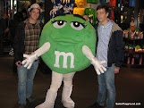 A fellow couch surfer, myself and an M&M.JPG