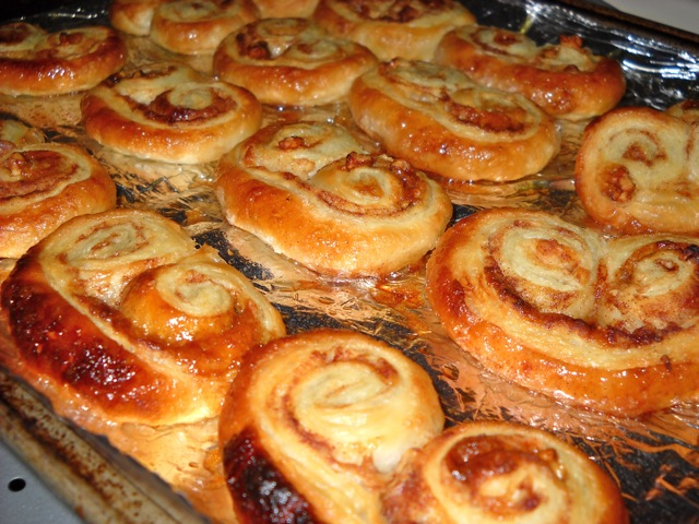 baked palmiers