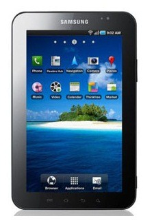 Samsung Galaxy Tab sold 2 Million plus