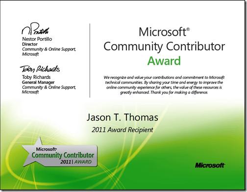 MCCA certificate