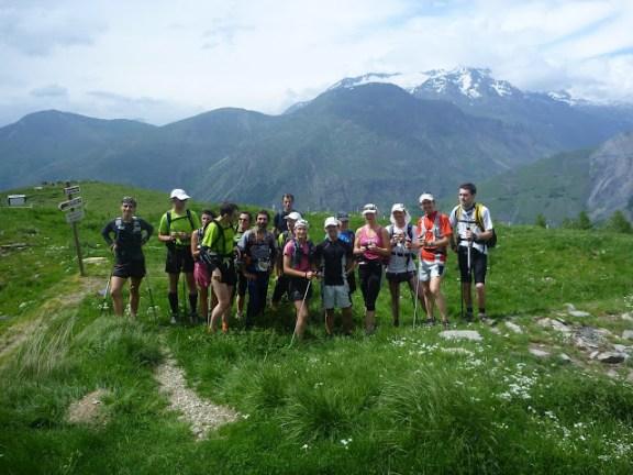 Le Team Raidlight en reco aux 2 Alpes