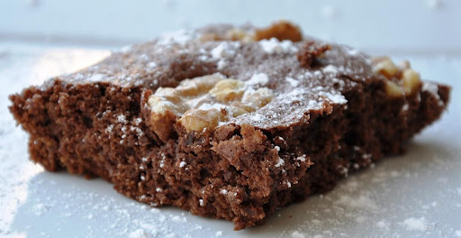 fudgy walnut brownies