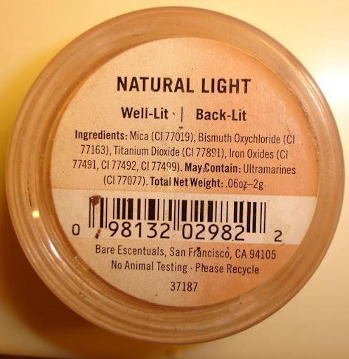 Bare Escentuals Natural Light Powder