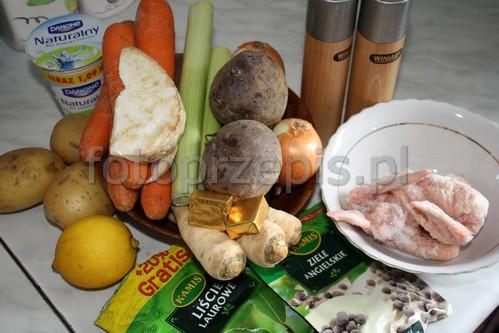 Zupa Buraczkowa (Barszcz Czerwony) zupy zdrowe przepisy czytelnikow polska obiad jednogarnkowe  przepis foto