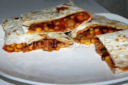 Tortilla z nadzieniem (Burito, Burrito)