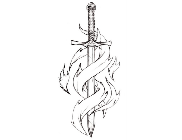 small tattoo design