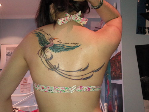 Phoenix tattoos design