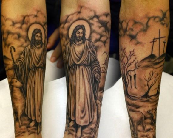 jesus tattoos ideas