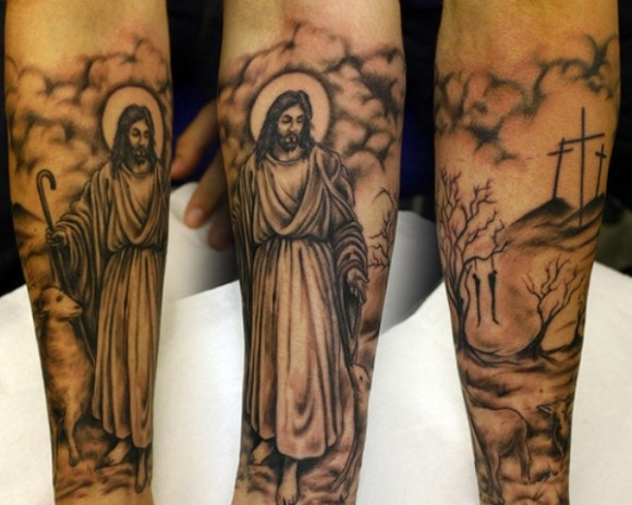 jesus tattoos ideas