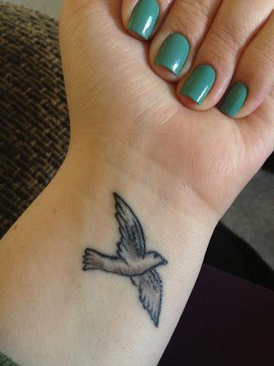 wrist tattoos girls