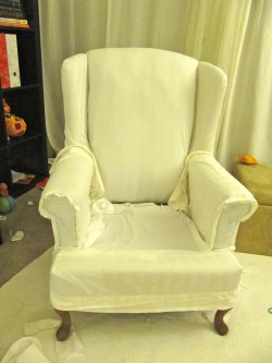Small Of Wing Chair Slipcover