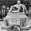 nieistniejący pomnik pierwszowojenny w Dąbiu