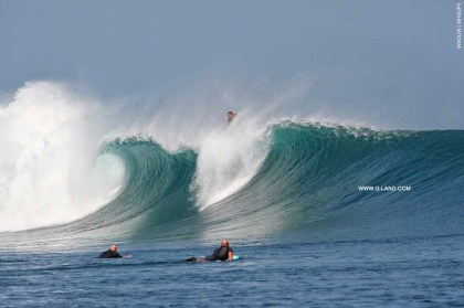 G-Land Surf Report on September 27, 2015