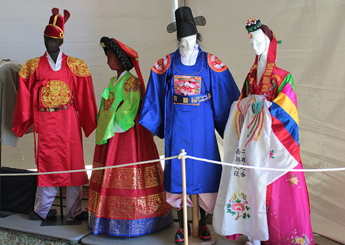 ancient korea dress clothes
