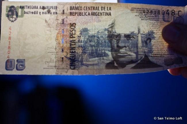 Fake 50 peso note