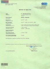 Sertifkat Sucofindo No 00650/CDBHAB