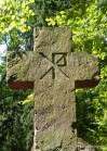 Symbol 'PX' na nagrobku rodziny Borchers