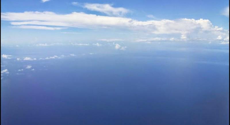 flight over port-blair