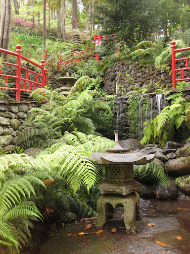 Japanese Garden at the Botanic Gardens in Funchal