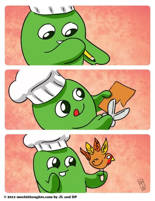 Cute Comic, Cut Out