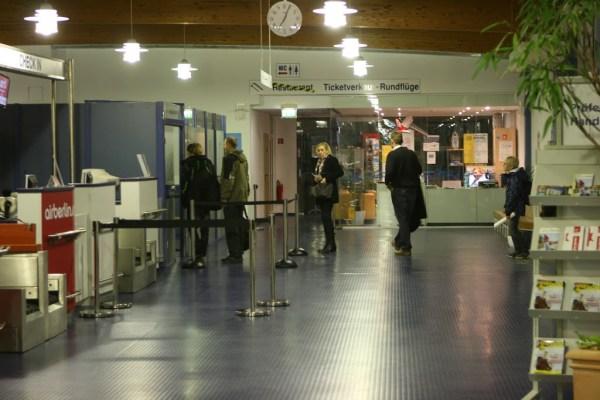 Niedlich - Der Flughafen Heringsdorf.