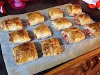 Delicious healthy sausage rolls