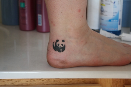 small panda tattoo designs