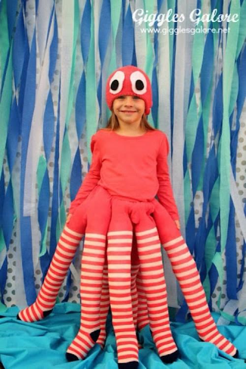 Chobotnice maska na karneval