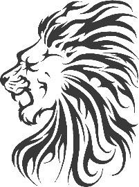 lion tribal tattoo designs