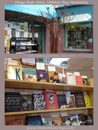 Village Book Shop, Littleton NH   www.3rsblog.com