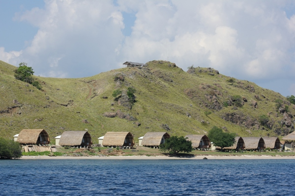Rumah di Pulau Komodo