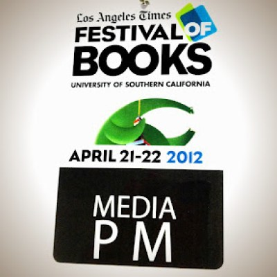 official media badge LA Times Festival of Books 2012