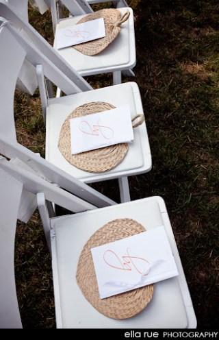 Wedding Fans Ceremony