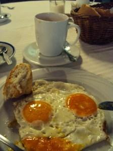"""""""Frühstück"""" im Hotel in Sombor"""