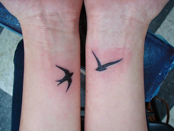 birds wrist tattoo ideas for girls