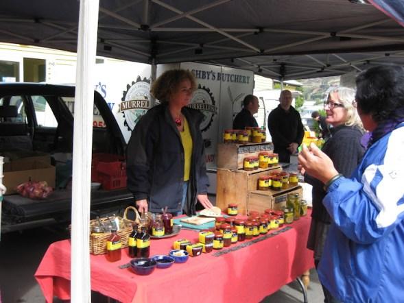 Lyttelton Market jam stand