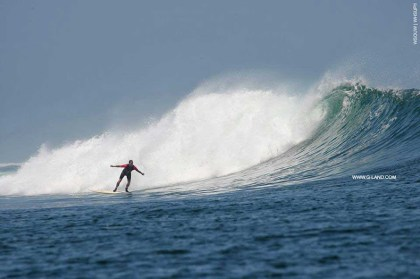 G-Land Surf Report on October 13, 2015