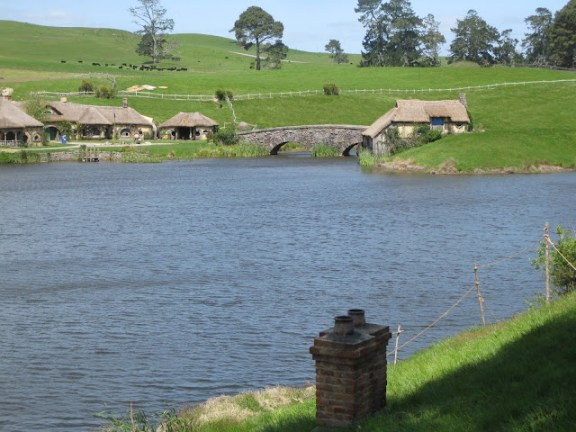 Hobbiton movie set mill and guest house