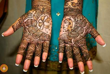 indian bridal mehandi designs